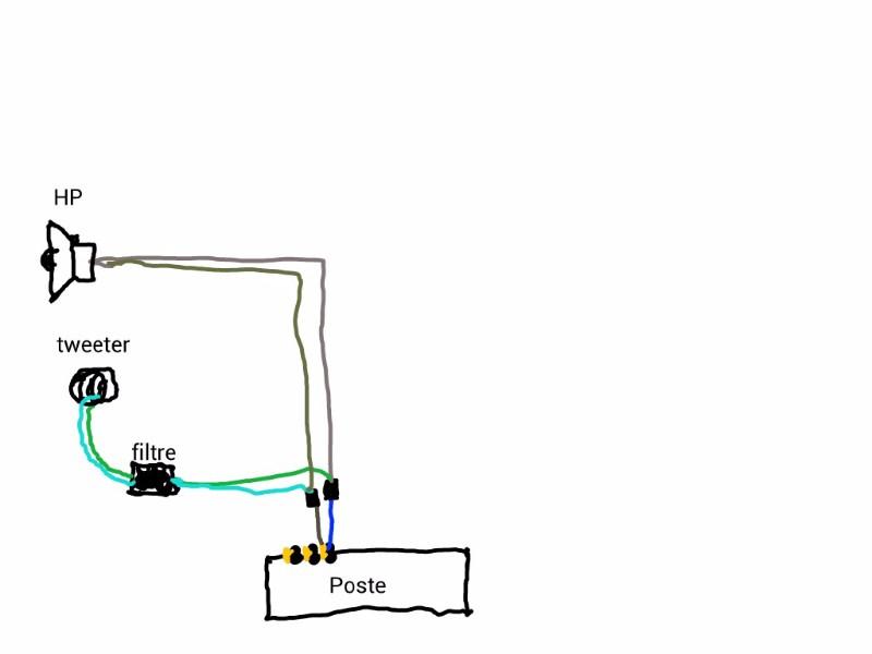 planete 205 besoin d 39 aide branchement haut parleur kit clat equipement electrique. Black Bedroom Furniture Sets. Home Design Ideas