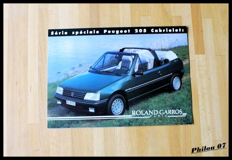 planete 205 205 roland garros cabriolet 1993 le parking 205 page 38. Black Bedroom Furniture Sets. Home Design Ideas