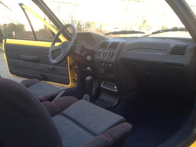Planete 205 cabriolet 205 le cabriolet 1994 mod le for Moquette 205 cabriolet
